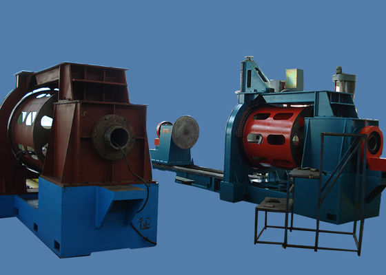 China V Johnson Water Well Screens Wire Mesh Manufacturing Machine Servo Motor Drive supplier
