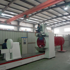 9500MM Length Johnson Wire Screen Welding Machine For Pulp / Paper