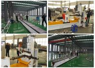 Mining Screen Panels Welded Wire Mesh Machine 5.5Kw Two Set Servo Motor