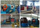 HWJ300mm Wedge Wire Oil Well Screen Welding Machine With Mitsubishi System
