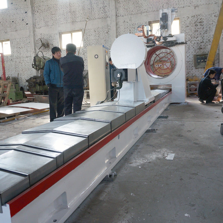 Stainless Steel 1200MM Dia Wire Mesh Welding Machine For Mineral Screening