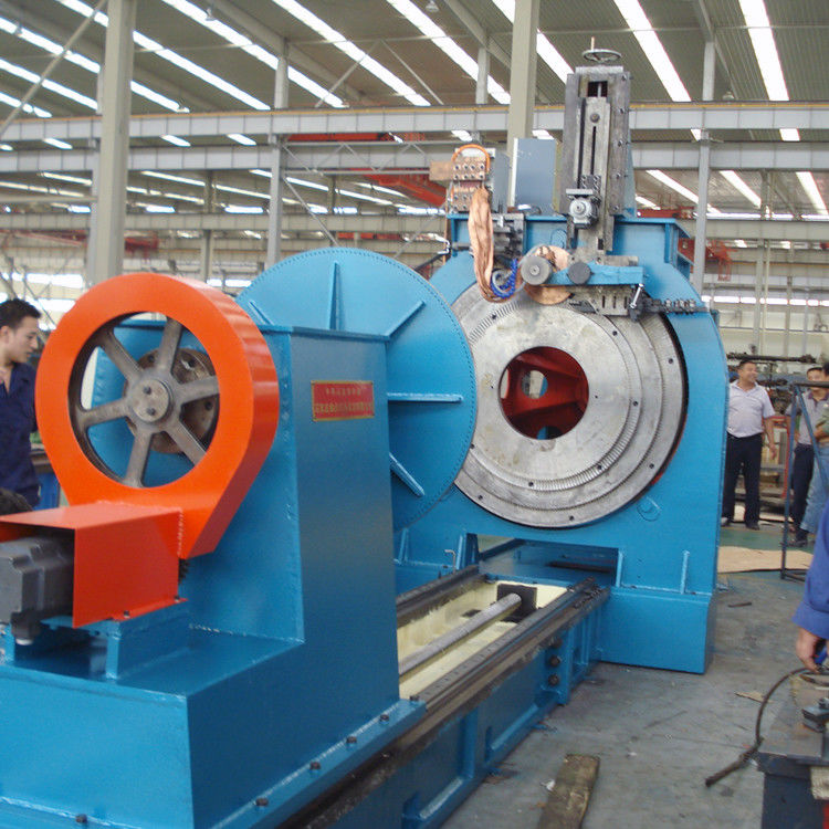 12 Ton Welded Wire Mesh Machine 0.01 Precision For Wedge Wire Screen Cylinders