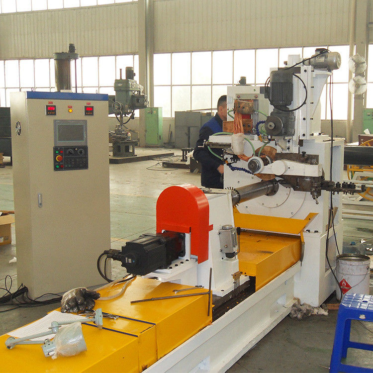 HWJ300 High Precision Welded Wire Mesh Machine For Johnson Stainless Steel Well Screens