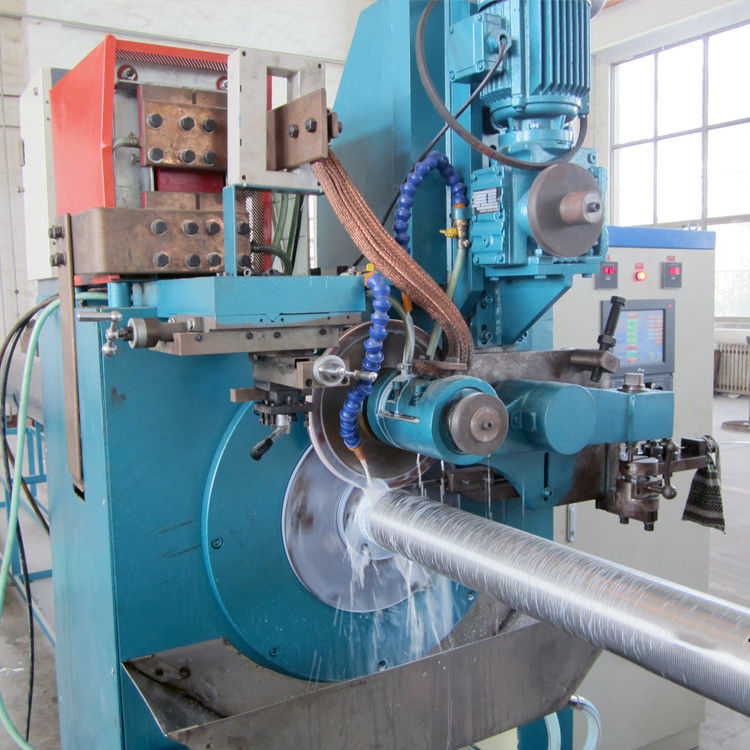 Numerical Control Automatic Wedge Wire Screen Welding Machine 4000mm Tube Length