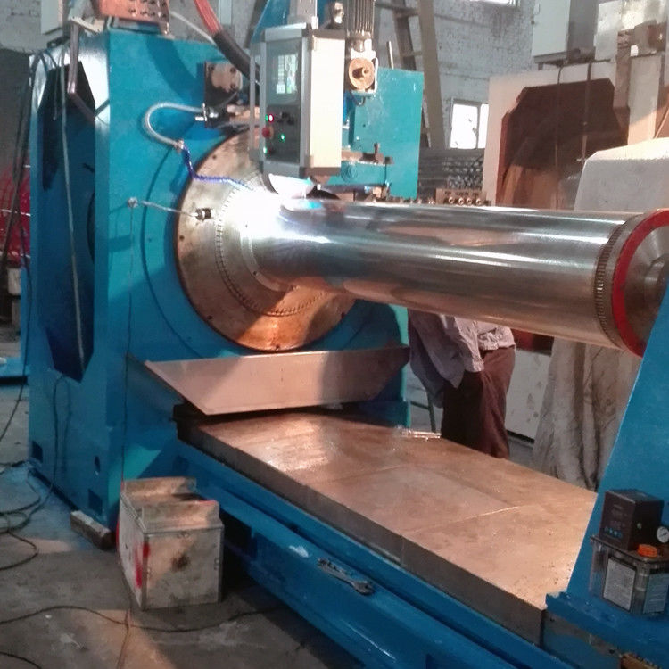 304 Stainless Steel Well Screen 0.05mm Slot Wedge Wire Screen Machine With 650MM Diameter