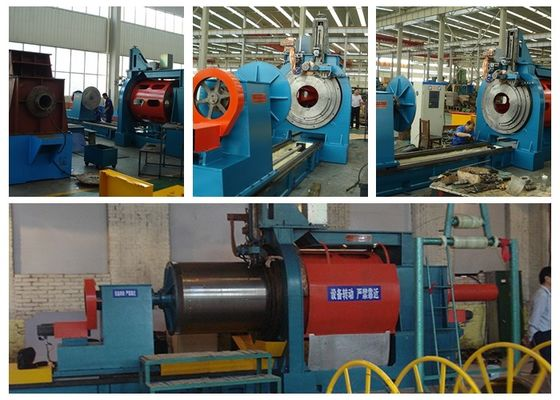 Slew Ring Bearing Wedge Wire Screen Machine 16-40 KVA Copper Wheel Welding