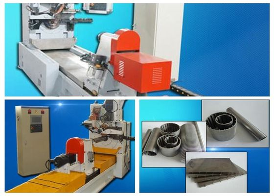 China Casting Wedged Wire Screen Mesh Wrapped Welding Machine With Mitsubishi Servo Motor distributor