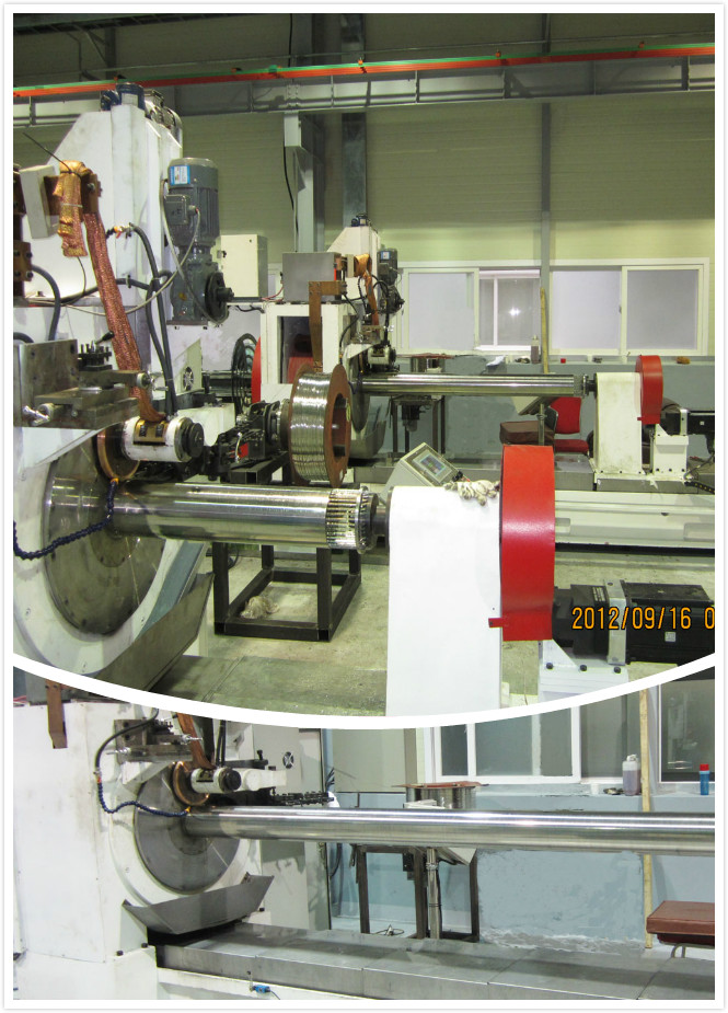Gas Filtration 316L Welded Wire Mesh Machine 20A With TBI Ball Screw