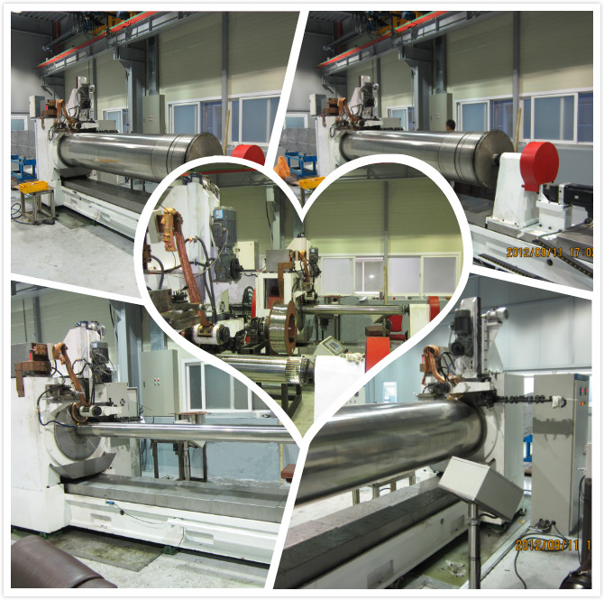 Rotary Profile Wire Screen Welded Wire Mesh Machine With E60 CNC Control System