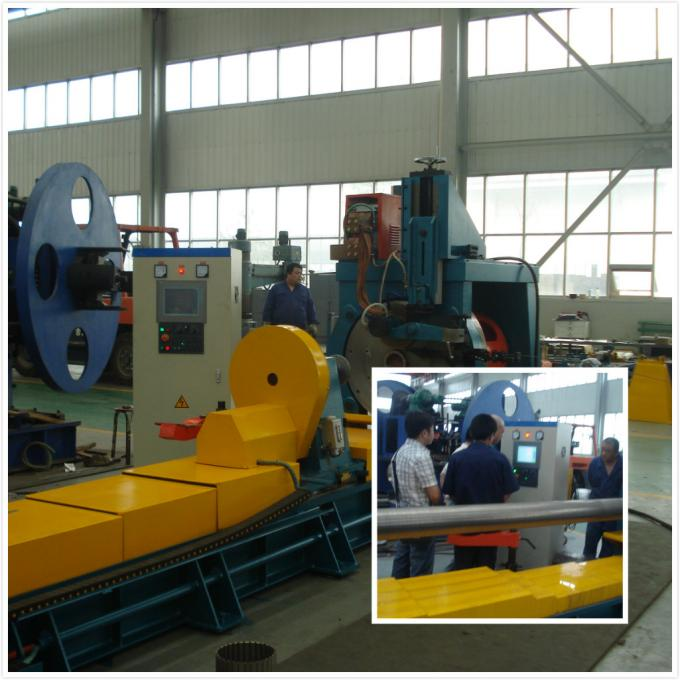 SUS316 Slotted Screen Cylindrical Wedge Wire Screen Welding Machine For High Filtering