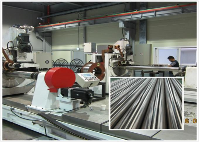 CNC Automatic Wire Mesh Making Machine For Stainless Steel Well Screen