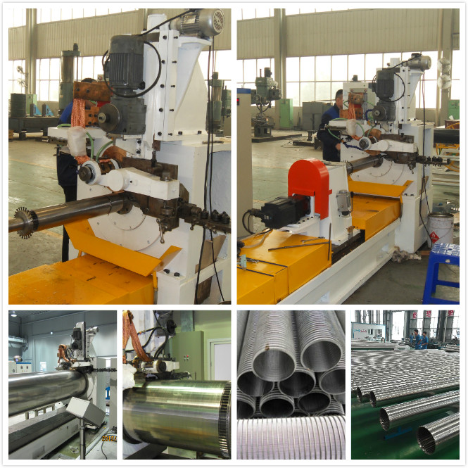 Engineered Filtration Wedge Wire Screen Machine Corrosion Resistance