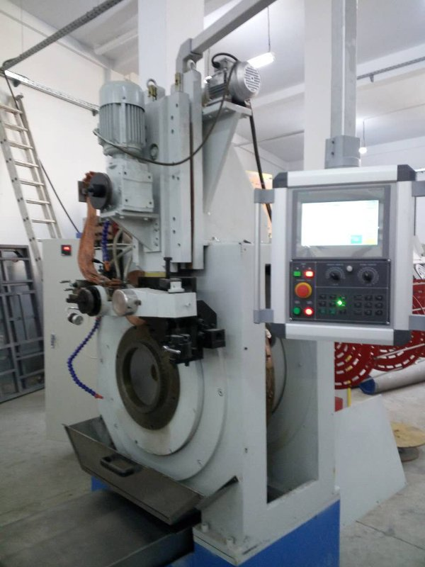 Wedge Wire Screen Machine for Making Stainless Steel Continuous Slot Filter Screens